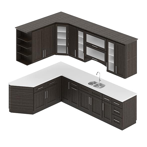 3DOcean Kitchen Furniture Set 7 20745128