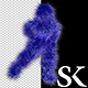 Dark Blue Hairy Dancer - VideoHive Item for Sale