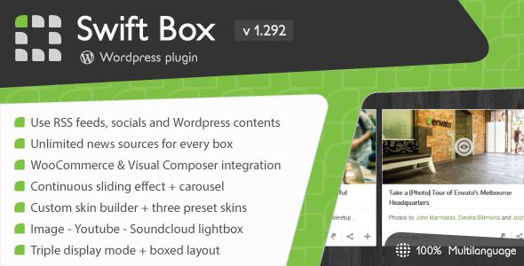 Swift Box - Wordpress News Slider and Viewer - CodeCanyon Item for Sale
