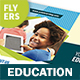 Education Flyers 10 – 4 Options - GraphicRiver Item for Sale