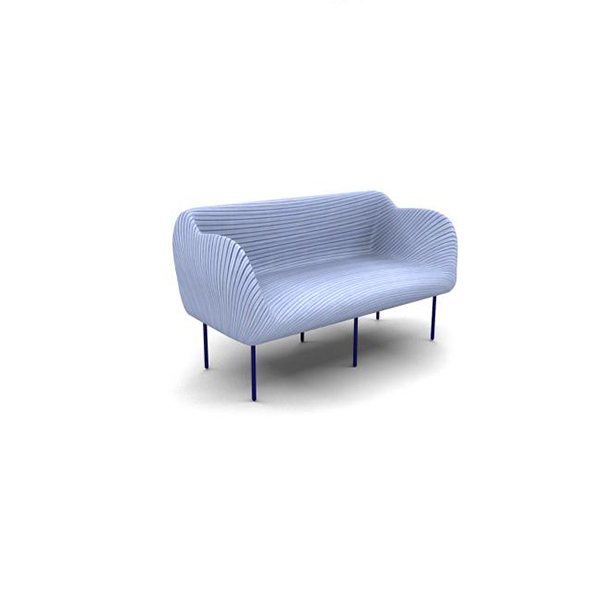 3DOcean Striped 3D Couch 20745656
