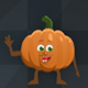 16 Pumpkin Character Animated Poses
