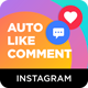 Instagram Auto Like & Comment Modules for Nextpost Instagram