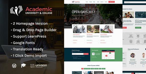 Download Academic – Education WordPress Theme nulled 00 02 001 theme preview