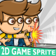 Geek Boy 2D Game Character Sprite - GraphicRiver Item for Sale