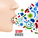 Stop Virus Poster