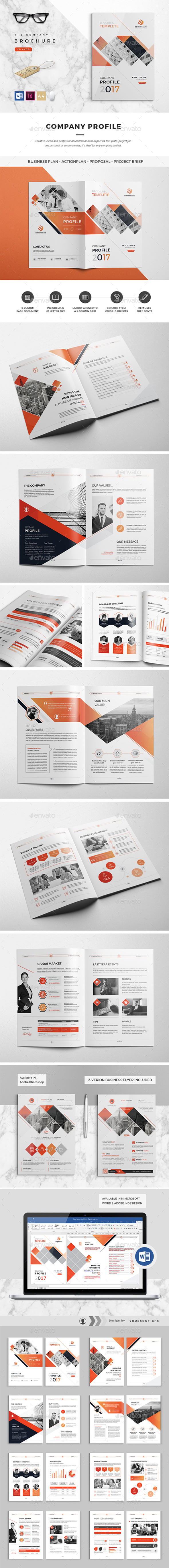 Clean Company Profile - Corporate Brochures