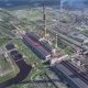 Aerial View of Modern Power Plant Facility - VideoHive Item for Sale