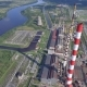 Aerial View of Power Plant Facility - VideoHive Item for Sale
