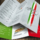 Italian Light A4 - US Letter Trifold Food Menu - GraphicRiver Item for Sale