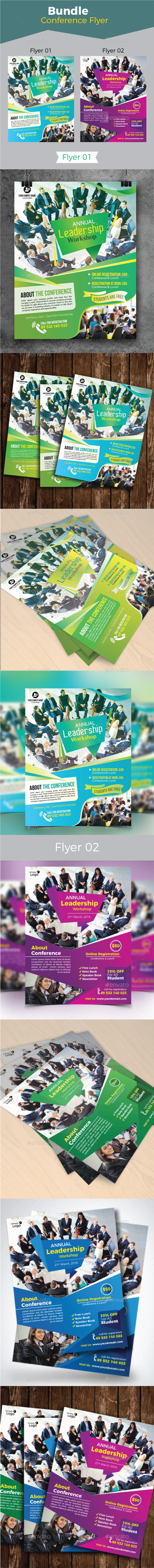Conference Flyer Bundle - Corporate Flyers