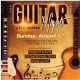 Guitar Night Flyer Template - GraphicRiver Item for Sale