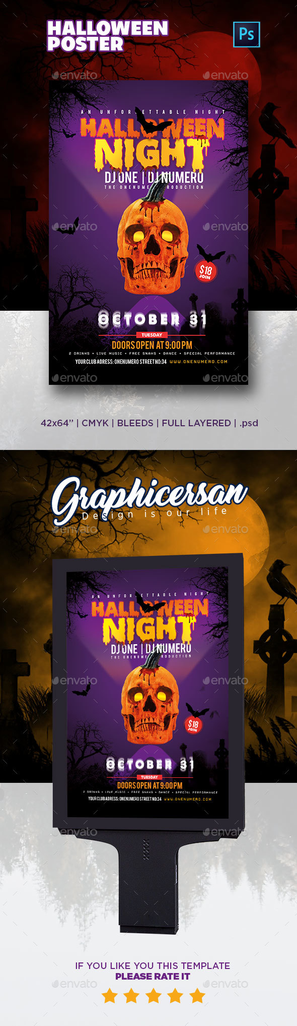Halloween Poster - Events Flyers