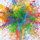 Exploding Paints Logo Reveal - VideoHive Item for Sale