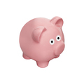 Classic pig bank, Isolated on White