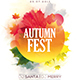 Autumn Fest Party Flyer