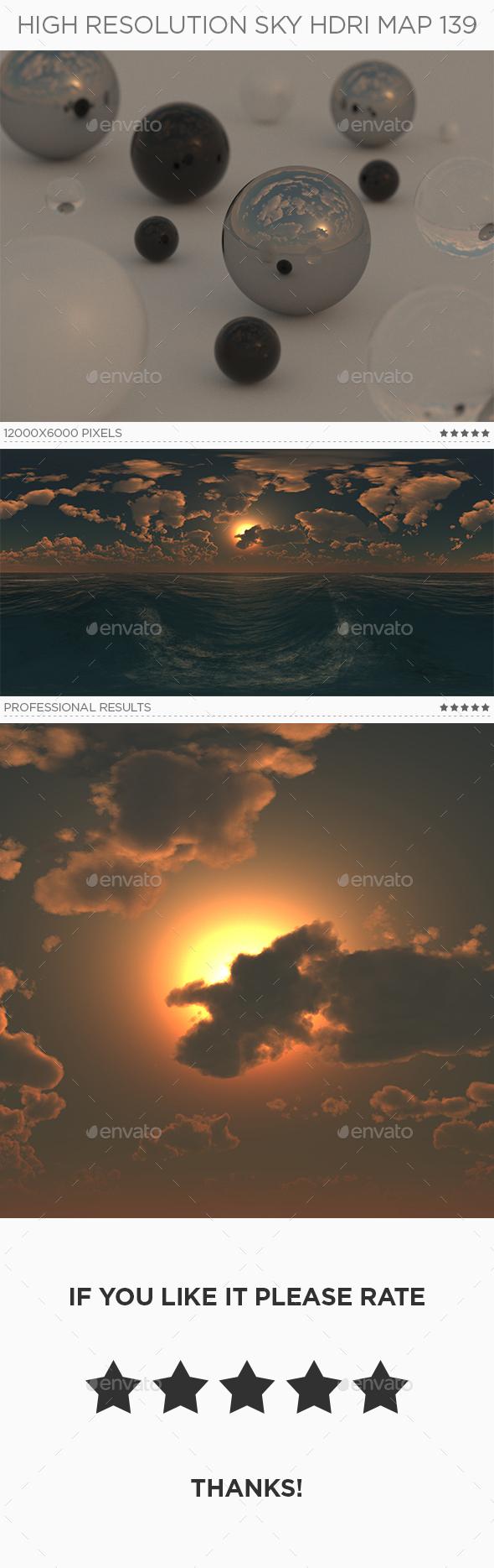 High Resolution Sky HDRi Map 139 - 3DOcean Item for Sale