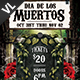 Dia De Los Muertos Poster / Flyer V09 - GraphicRiver Item for Sale