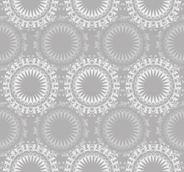 Lace Ornate Seamless Pattern - Patterns Decorative