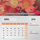 Year Calendar 2018 - GraphicRiver Item for Sale