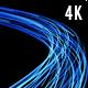 Optical Fibre Communication Signals Transparent 4K