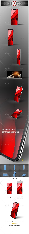 GraphicRiver Phone X Mockup 20751807