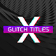 Gradient Glitch Titles - VideoHive Item for Sale