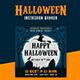 Halloween Instagram Banner - GraphicRiver Item for Sale