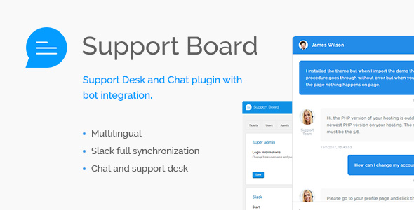 Support Board - Chat And Help Desk - CodeCanyon Item for Sale