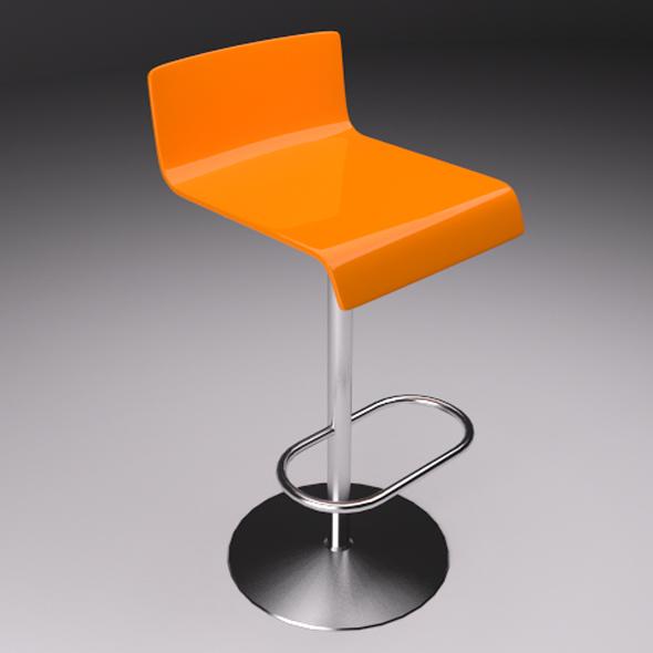 3DOcean Plastic Chair v1 20752304
