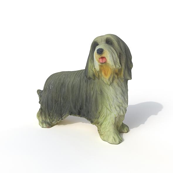 Statuette Dog - 3DOcean Item for Sale