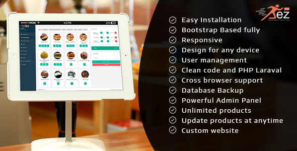 CodeCanyon Easy POS and Restaurant Solution 20752412