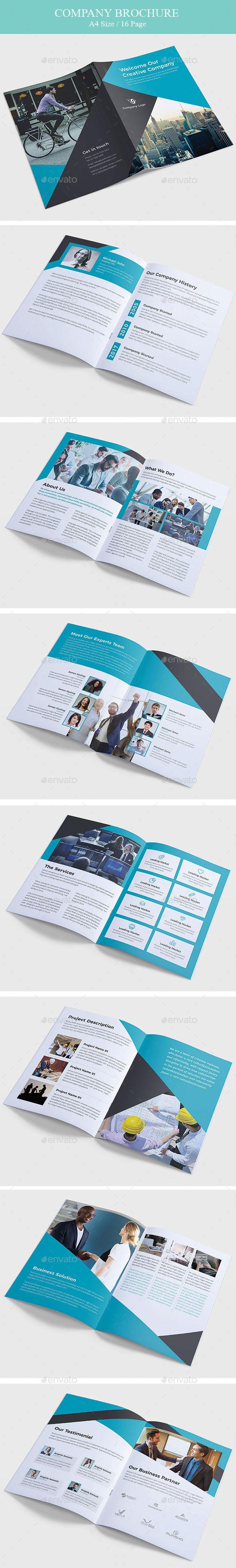 GraphicRiver Company Brochure 20752502