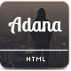 Adana - One Page Personal Template - ThemeForest Item for Sale