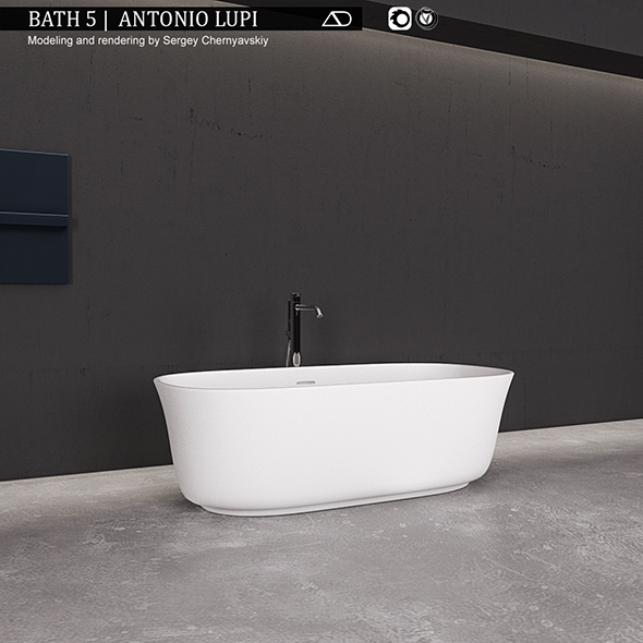Bath 5 Antonio LupI - 3DOcean Item for Sale