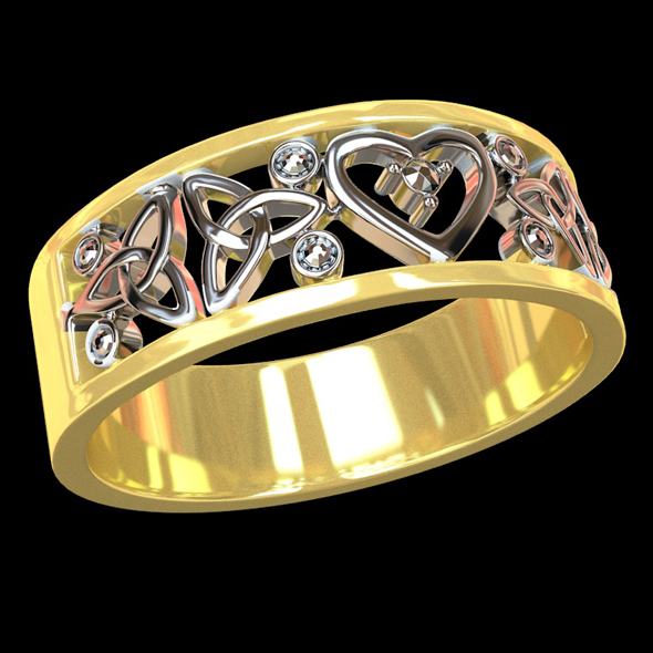 3DOcean Wedding ring 2 20752684