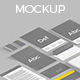 Isometric Stationery Mockup - GraphicRiver Item for Sale