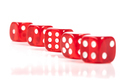 Red Dice Row - PhotoDune Item for Sale