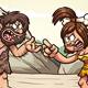 Caveman Couple - GraphicRiver Item for Sale