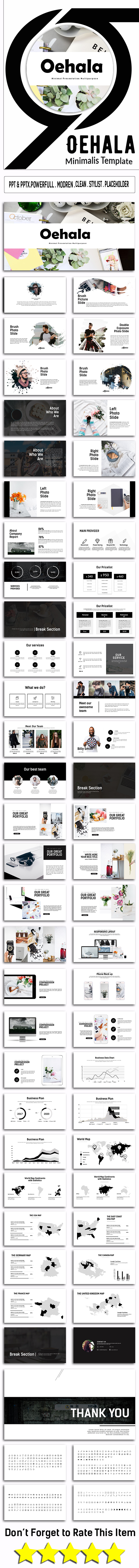 Oehala Business Presentation - PowerPoint Templates Presentation Templates