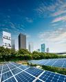 Solar panels in city - PhotoDune Item for Sale