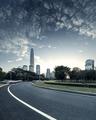 Asphalt pavement urban road - PhotoDune Item for Sale