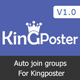 Facebook Auto join groups Module for Kingposter
