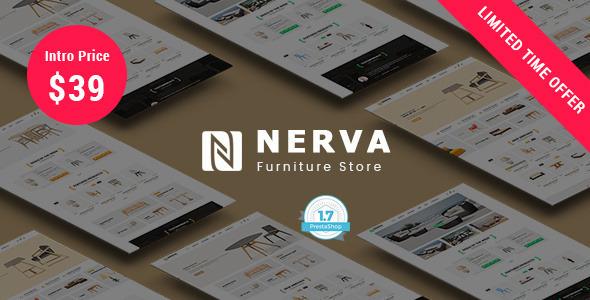 Image of Nerva Furniture - Responsive Prestashop 1.7 Theme
