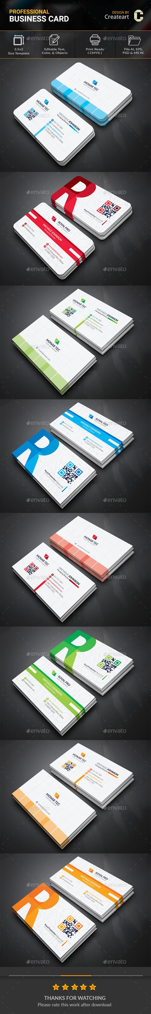 GraphicRiver Business Card Bundle 20753938