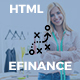 eFinance - Business and Finance HTML Template - ThemeForest Item for Sale