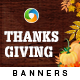 Thanks Giving Banners