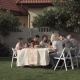 Family Eating in Garden - VideoHive Item for Sale