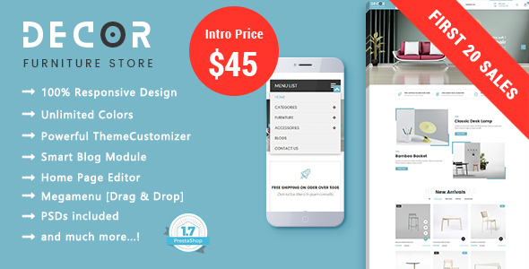 Image of Decor - Simple & Clean Furniture - Interior Design Prestashop Theme