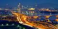 Seoul cityscape in twilight, South Korea. - PhotoDune Item for Sale